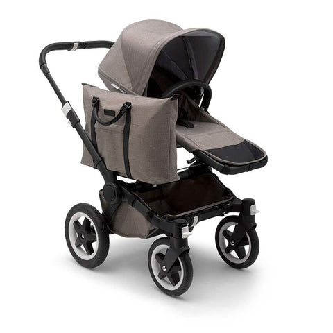 Bugaboo Donkey 2 - Black with Mineral Taupe-Strollers-Mono- Natural Baby Shower