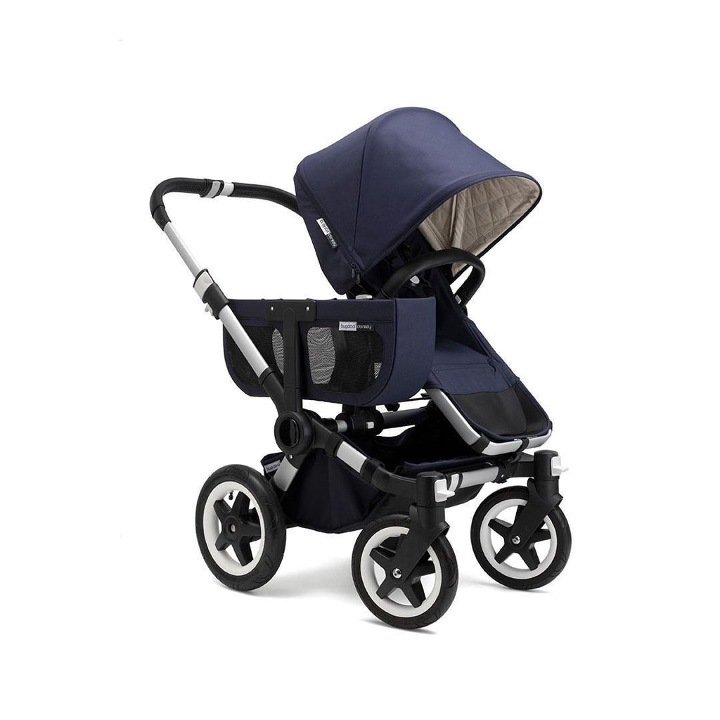 Bugaboo Donkey Classic+ Duo Pushchair - Aluminium with Navy
