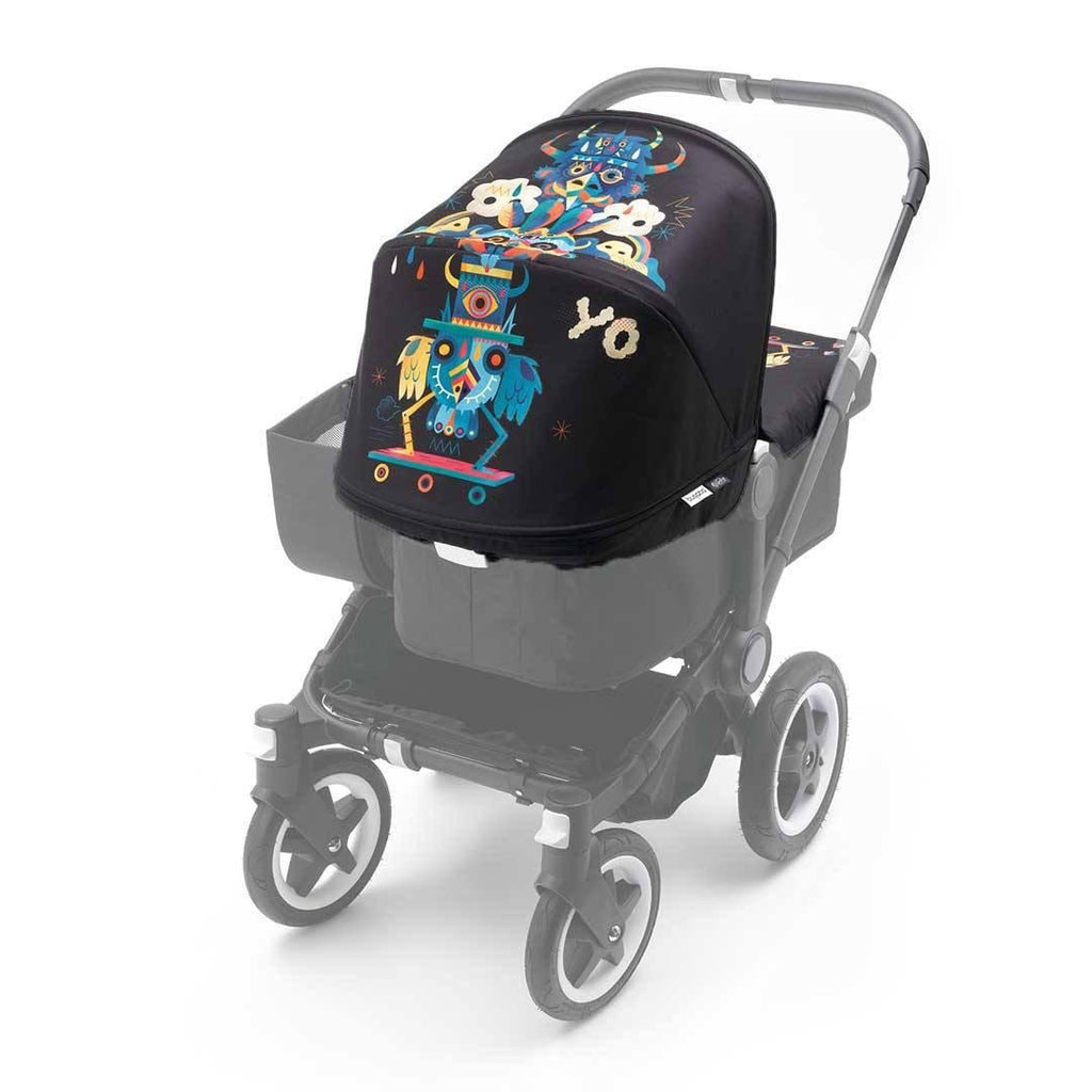 Bugaboo Donkey Tailored Fabric Set - Niark1-Colour Packs- Natural Baby Shower