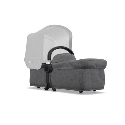 Bugaboo Donkey2 Classic+ Bassinet Fabric - Grey Melange-Carrycots- Natural Baby Shower