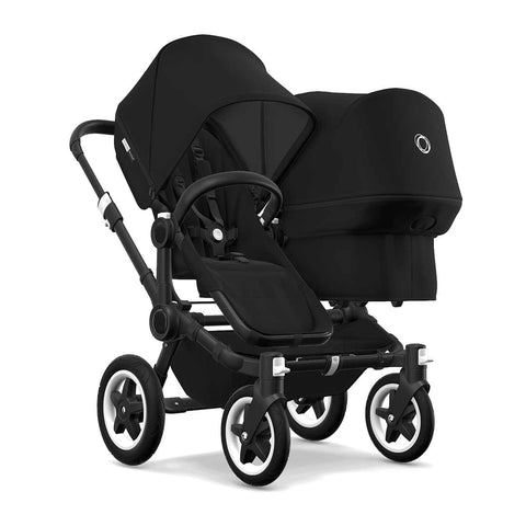 Bugaboo Donkey2 Duo Pushchair - Black + Black