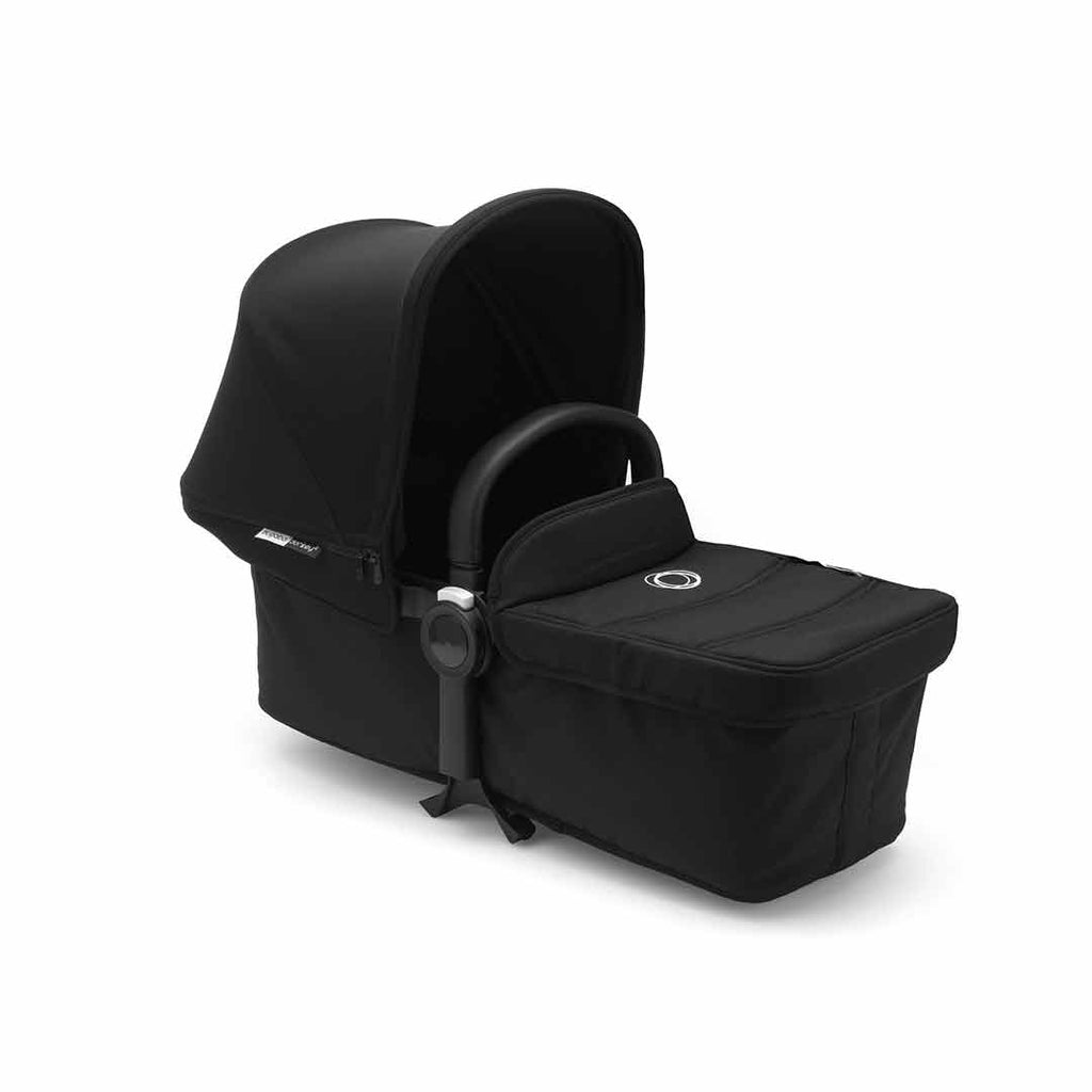 Bugaboo Donkey2 Mono Pushchair - Black with Black Carrycot