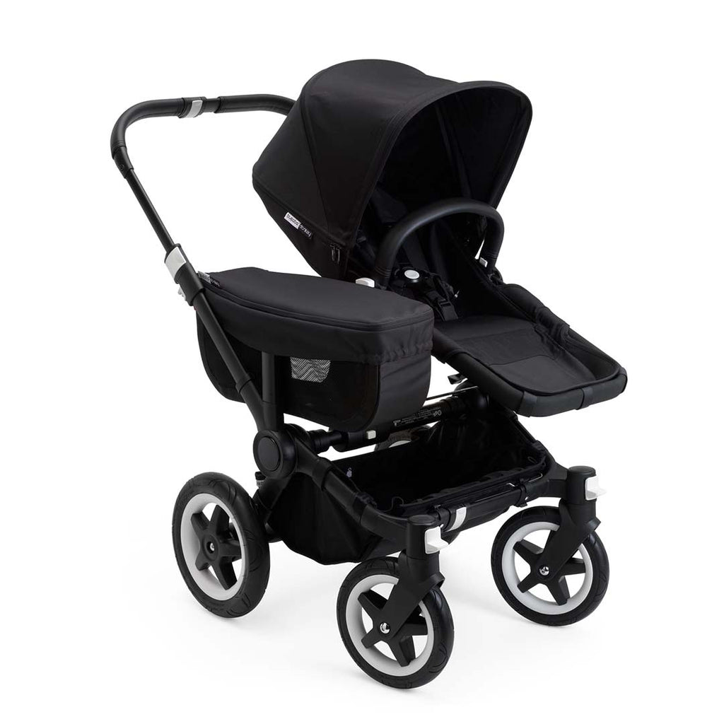 Bugaboo Donkey2 Mono Pushchair - Black with Black Seat
