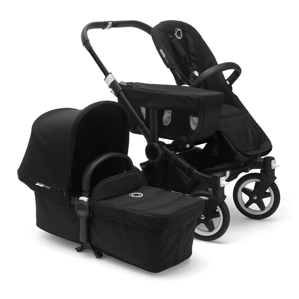 Bugaboo Donkey2 Mono Pushchair - Black with Black