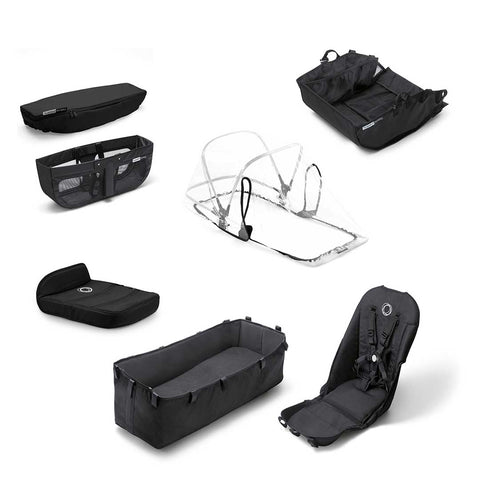 Bugaboo Donkey2 Style Set - Black-Colour Packs- Natural Baby Shower