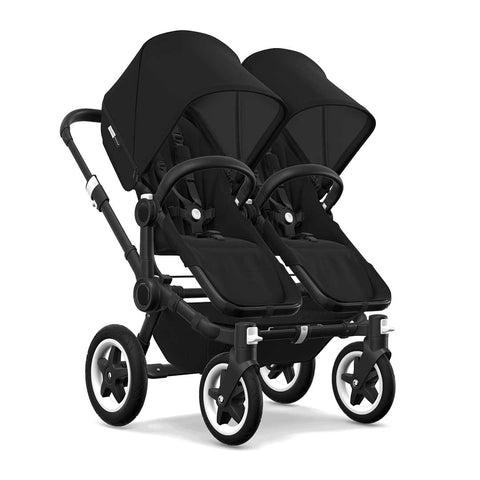 Bugaboo Donkey2 Twin Pushchair - Black + Black
