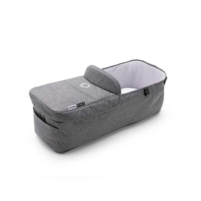 Bugaboo Donkey3 Carrycot Fabric Complete - Grey Melange-Carrycots- Natural Baby Shower