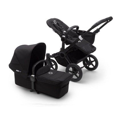 Bugaboo Donkey3 Pushchair - Black-Strollers-Mono-Black-Black- Natural Baby Shower