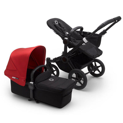 Bugaboo Donkey3 Pushchair - Red-Strollers-Mono-Black-Black- Natural Baby Shower