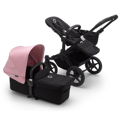 Bugaboo Donkey3 Pushchair - Soft Pink-Strollers-Mono-Black-Black- Natural Baby Shower