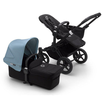 Bugaboo Donkey3 Pushchair - Vapor Blue-Strollers-Mono-Black-Black- Natural Baby Shower