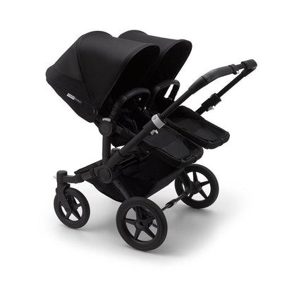 Bugaboo Donkey3 Pushchair - Black-Strollers-Twin-Black-Black- Natural Baby Shower