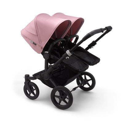 Bugaboo Donkey3 Pushchair - Soft Pink-Strollers-Twin-Black-Black- Natural Baby Shower