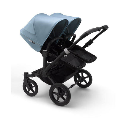 Bugaboo Donkey3 Pushchair - Vapor Blue-Strollers-Twin-Black-Black- Natural Baby Shower