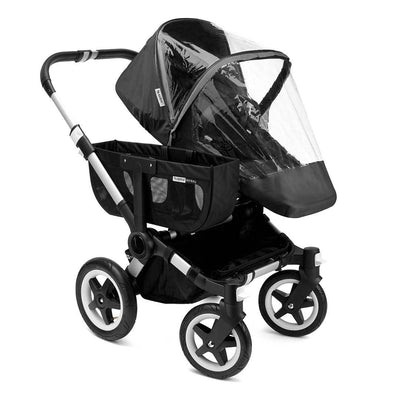 Bugaboo Donkey/Buffalo High Performance Raincover - Black-Raincovers- Natural Baby Shower
