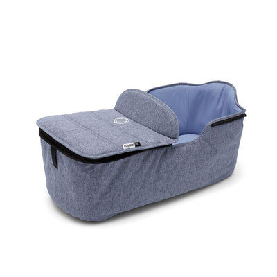Bugaboo Fox Carrycot Tailored Fabric Set - Blue Melange-Colour Packs- Natural Baby Shower