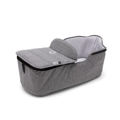 Bugaboo Fox Carrycot Tailored Fabric Set - Grey Melange-Colour Packs- Natural Baby Shower