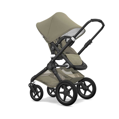 Bugaboo Fox Classic+ Pushchair - Black + Khaki 2