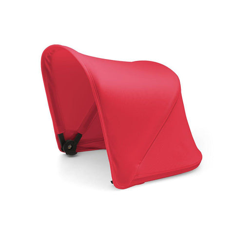 Bugaboo Fox Extendable Sun Canopy - Neon Red