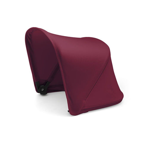 Bugaboo Fox Extendable Sun Canopy - Ruby Red