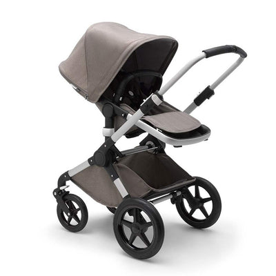 Bugaboo Fox Pushchair - Mineral Taupe + Aluminium-Strollers- Natural Baby Shower