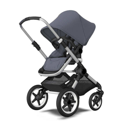Bugaboo Fox Pushchair - Steel Blue + Aluminium - Ex-Display-Strollers- Natural Baby Shower