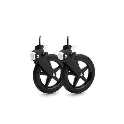 Bugaboo Fox Wheel Caps - Glossy Black-Stroller Wheels- Natural Baby Shower