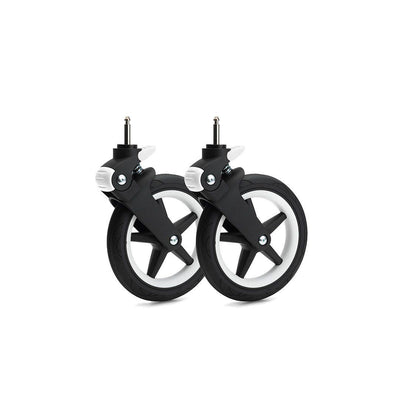 Bugaboo Fox Wheel Caps - White-Stroller Wheels- Natural Baby Shower