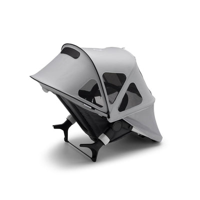 Bugaboo Fox2/Cameleon3 Breezy Sun Canopy - Misty Grey-Sun Covers- Natural Baby Shower