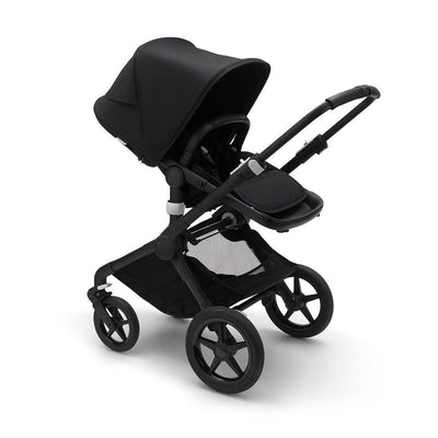 Bugaboo Fox2 Complete Pushchair - Black + Black-Strollers- Natural Baby Shower