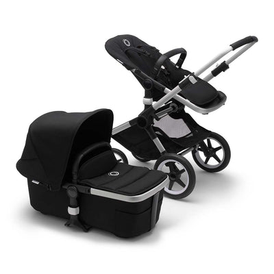 Bugaboo Fox2 Pushchair - Black-Strollers-Aluminium-Black- Natural Baby Shower