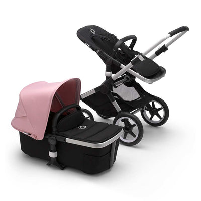 Bugaboo Fox2 Pushchair - Soft Pink-Strollers-Aluminium-Black- Natural Baby Shower