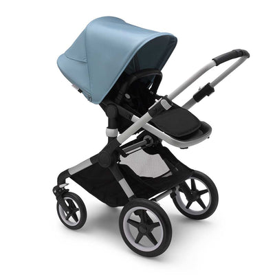 Bugaboo Fox2 Pushchair - Vapour Blue-Strollers-Aluminium-Black- Natural Baby Shower