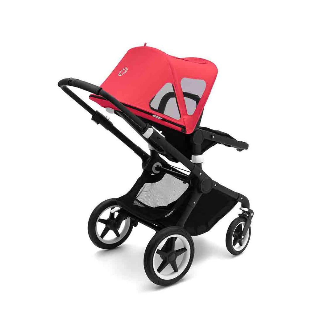 Bugaboo Fox/Cameleon3 Breezy Sun Canopy - Neon Red-Sun Covers- Natural Baby Shower