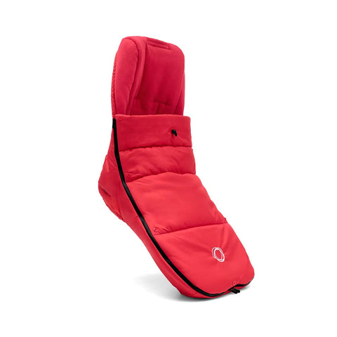 Bugaboo High Performance Footmuff+ - Neon Red-Footmuffs- Natural Baby Shower