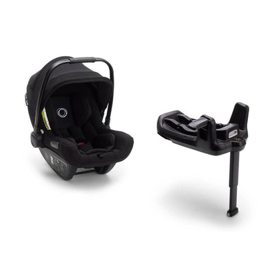 Bugaboo Turtle Air by Nuna Car Seat + Base - Black-Car Seats- Natural Baby Shower