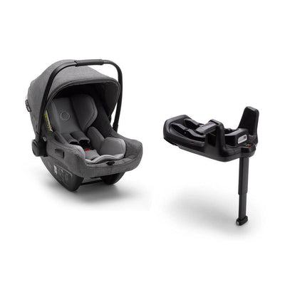 Bugaboo Turtle Air by Nuna Car Seat + Base - Grey-Car Seats- Natural Baby Shower