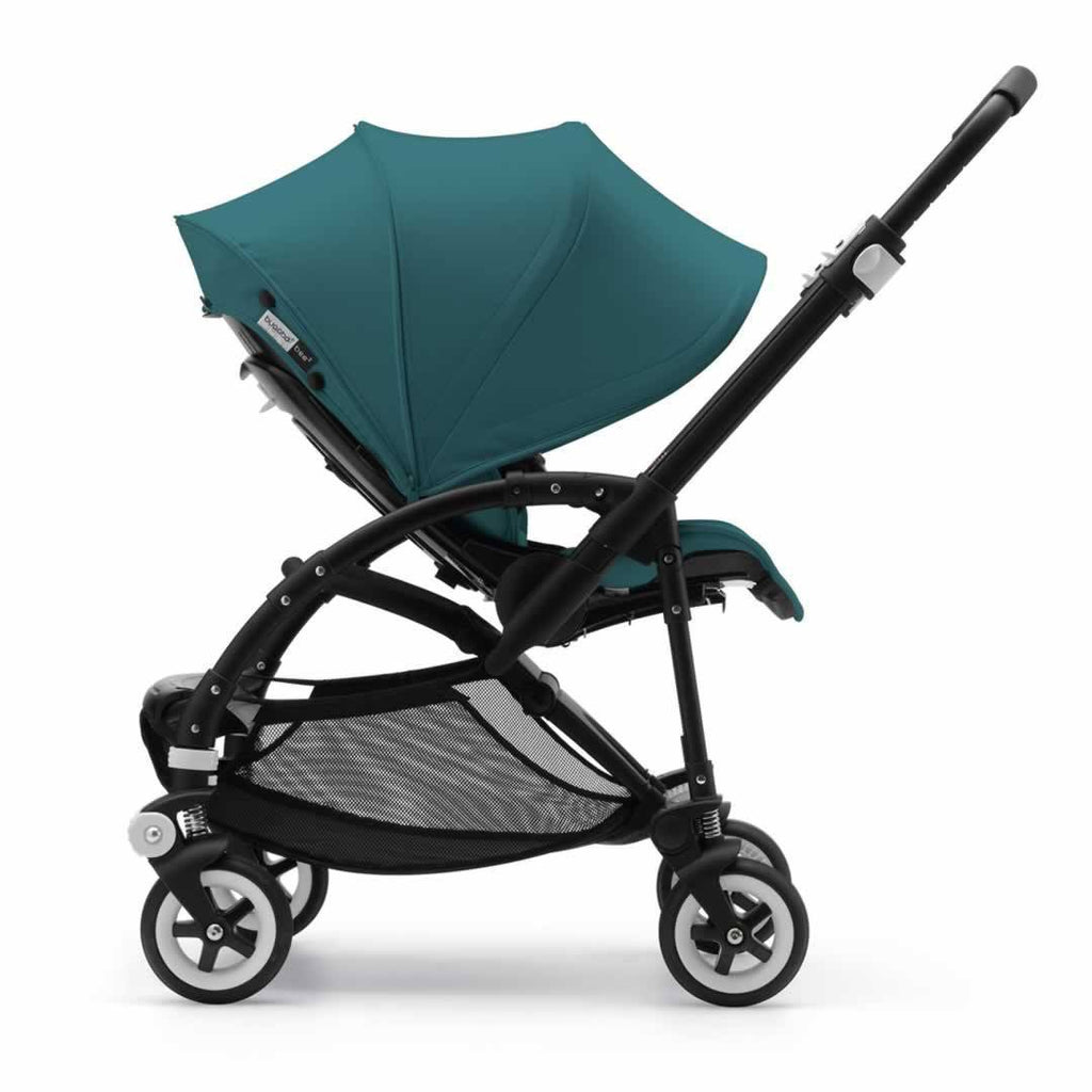 Bugaboo Bee3 Modern Pastel Pushchair - Petrol Blue Canopy Side
