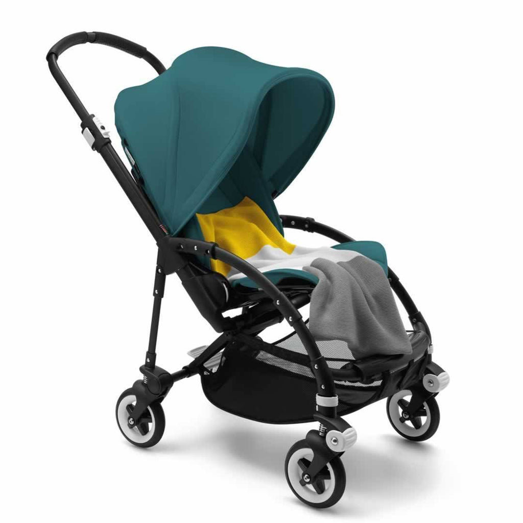Bugaboo Bee3 Modern Pastel Pushchair - Petrol Blue with Blanket