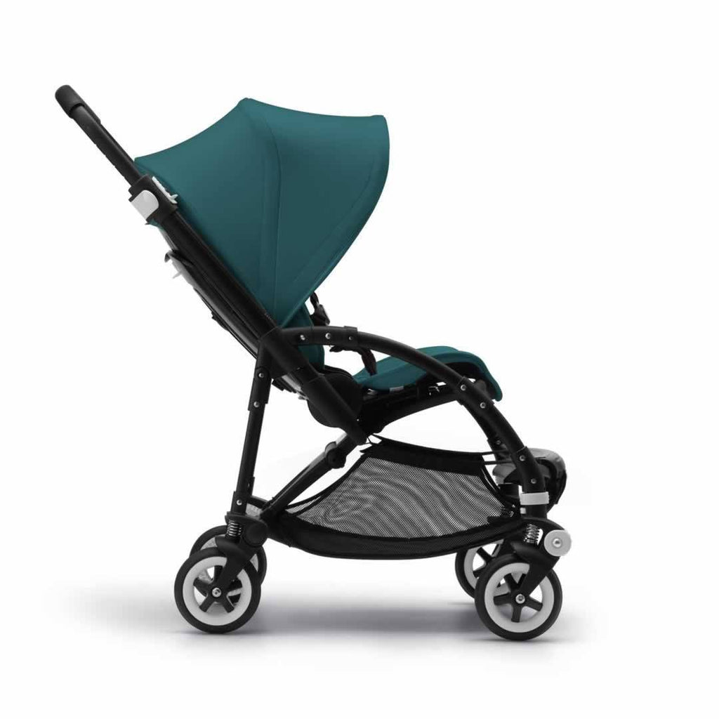 Bugaboo Bee3 Modern Pastel Pushchair - Petrol Blue Side