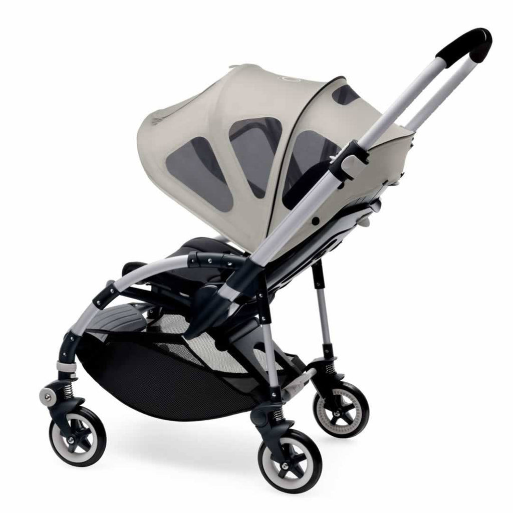 Bugaboo Bee Breezy Sun Canopy - Arctic Grey-Sun Covers- Natural Baby Shower
