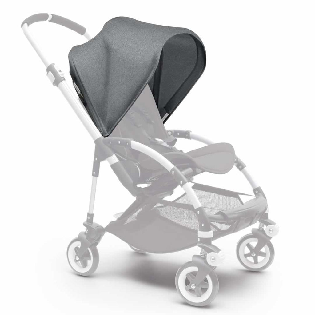 Bugaboo Bee3 Sun Canopy in Grey Melange