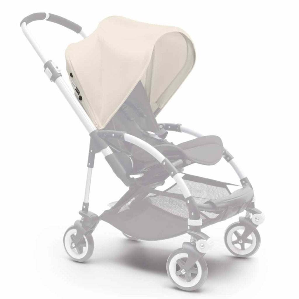 Bugaboo Bee3 Sun Canopy in Off White