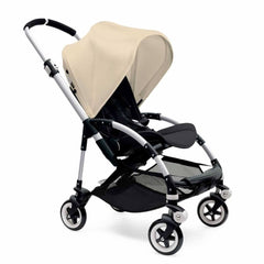 Bugaboo Bee3 Pushchair in Aluminium with Off White