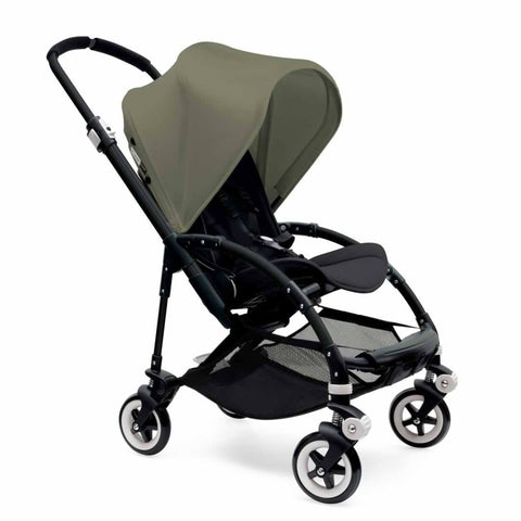 Bugaboo Bee3 Pushchair [Ex Display] - Black with Dark Khaki - Strollers - Natural Baby Shower