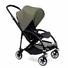 Bugaboo Bee3 Pushchair Black, Dark Khaki & Black