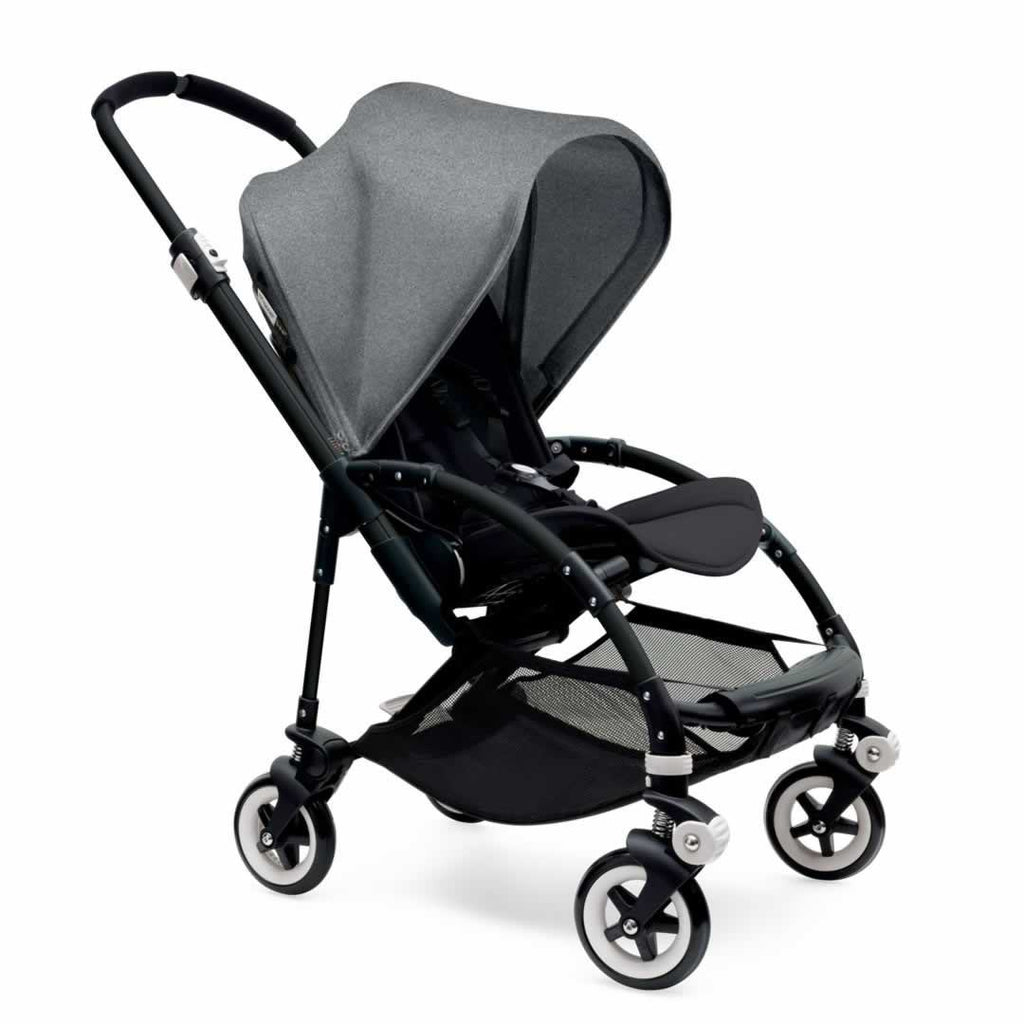 Bugaboo Bee3 Pushchair Black, Grey Melange & Black