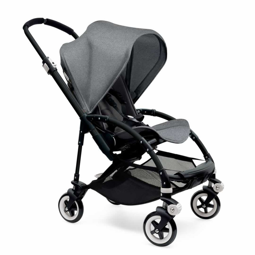 Bugaboo Bee3 Pushchair Black, Grey Melange & Grey Melange