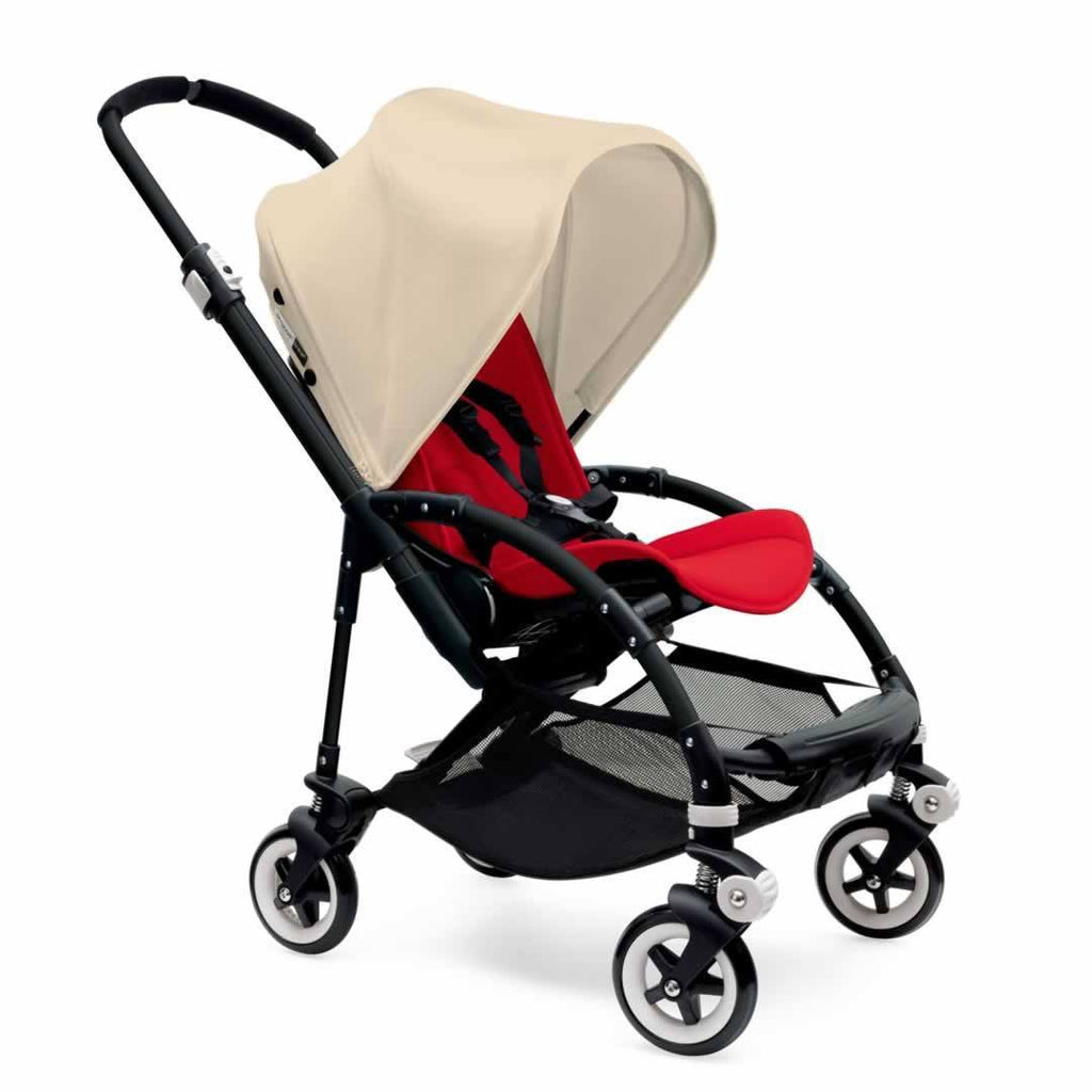 Bugaboo Bee3 Pushchair Black, Off White & Red