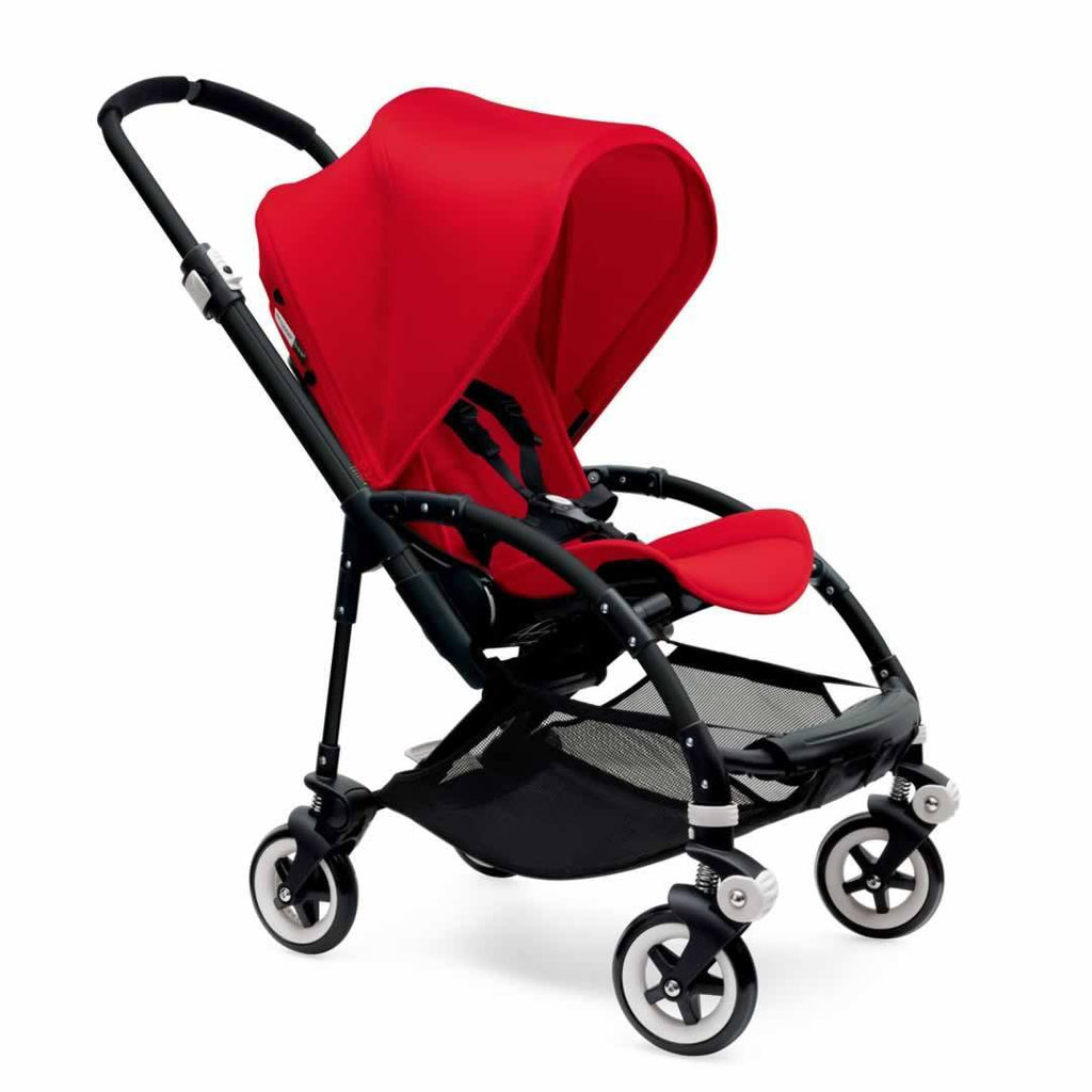 Bugaboo Bee3 Pushchair Black, Red & Red